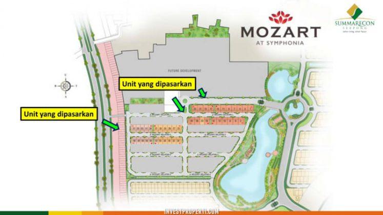 Siteplan Cluster Mozart Symphonia Serpong Phase 1