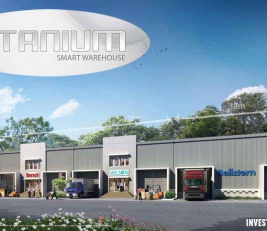 Titanium Smart Warehouse Makassar by Summarecon