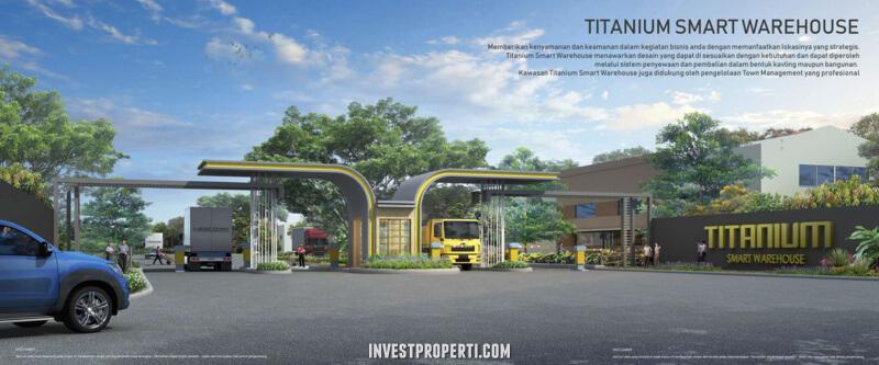 Titanium Smart Warehouse Summarecon Makassar