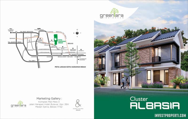 Cluster Albasia GreenAra Residence Bekasi