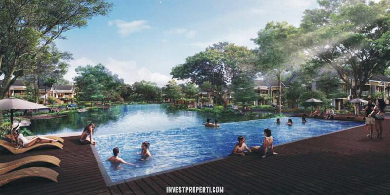 Swimming Pool Olive Residence Summarecon Bekasi