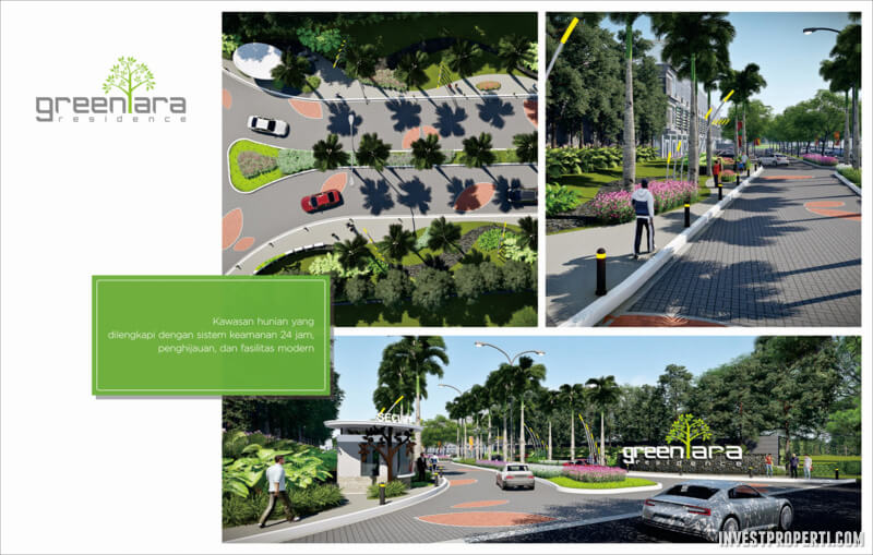 GreenAra Residence Kota Harapan Indah Bekasi