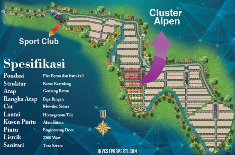 Master Plan Golden Hills Gunung Sindur Bogor
