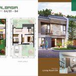 Rumah Cluster Albasia GreenAra Residence Bekasi Tipe Darva