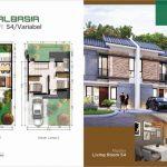Rumah Cluster Albasia GreenAra Residence Bekasi Tipe Valka Sudut