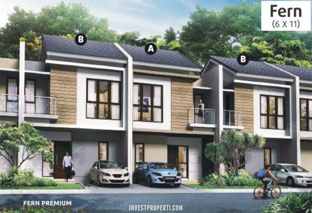 Rumah Cluster Olive Orchard Summarecon Bekasi Tipe Fern Premium