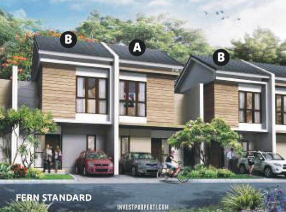 Rumah Cluster Olive Orchard Summarecon Bekasi Tipe Fern Standard