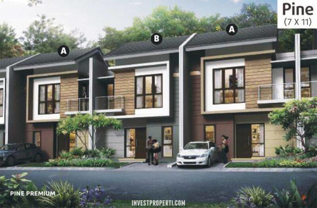 Rumah Cluster Olive Orchard Summarecon Bekasi Tipe Pine Premium