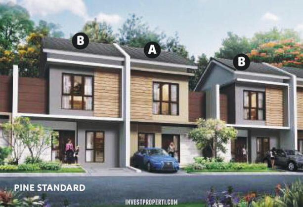 Rumah Cluster Olive Orchard Summarecon Bekasi Tipe Pine Standard