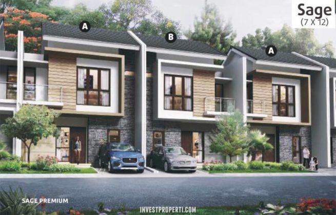 Rumah Cluster Olive Orchard Summarecon Bekasi Tipe Sage Premium