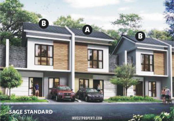 Rumah Cluster Olive Orchard Summarecon Bekasi Tipe Sage Standard