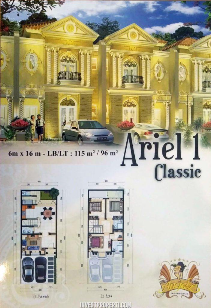 Rumah Angel Residence Jakarta Tipe Ariel 1 Classic