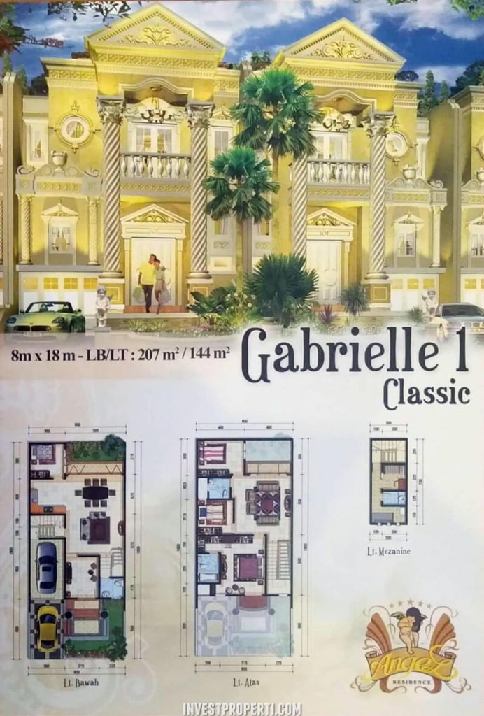 Rumah Angel Residence Jakarta Tipe Gabrielle 1 Classic