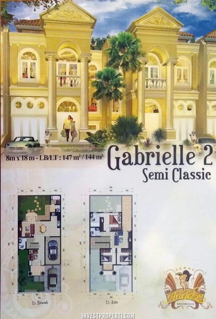 Rumah Angel Residence Jakarta Tipe Gabrielle 2 Semi Classic