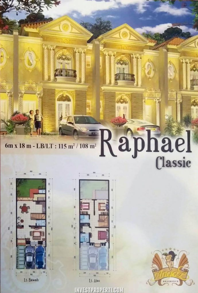 Rumah Angel Residence Jakarta Tipe Raphael Classic