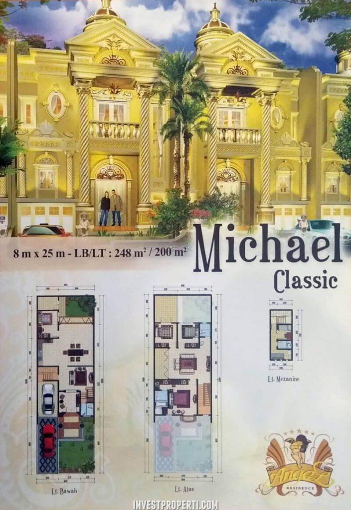 Rumah Angel Residence Jakarta Tipe Michael Classic