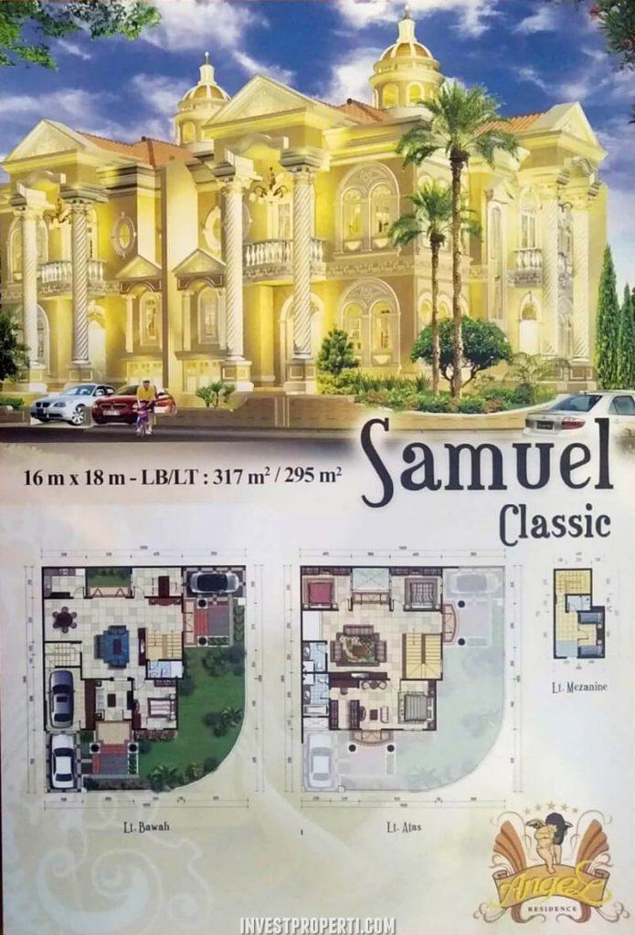 Rumah Angel Residence Jakarta Tipe Samuel Classic
