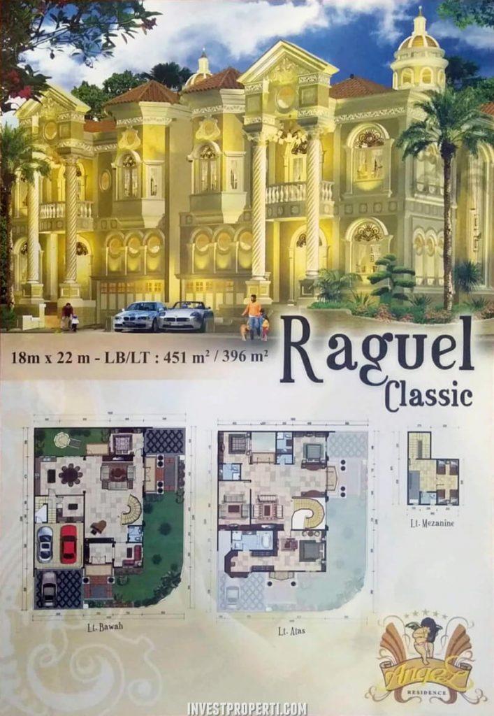Rumah Angel Residence Jakarta Tipe Raguel Classic