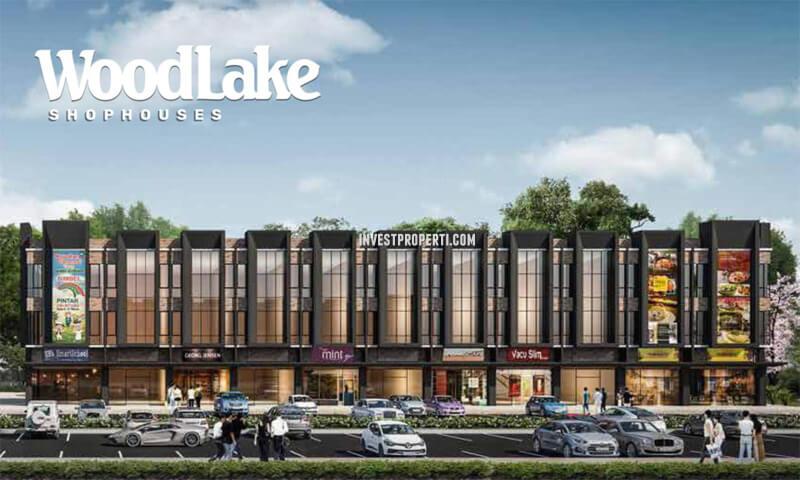 Woodlake Shophouses Alam Sutera