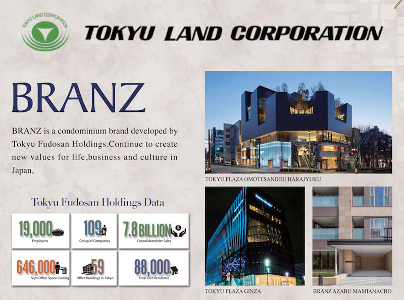 Branz - Tokyu Land Corporation