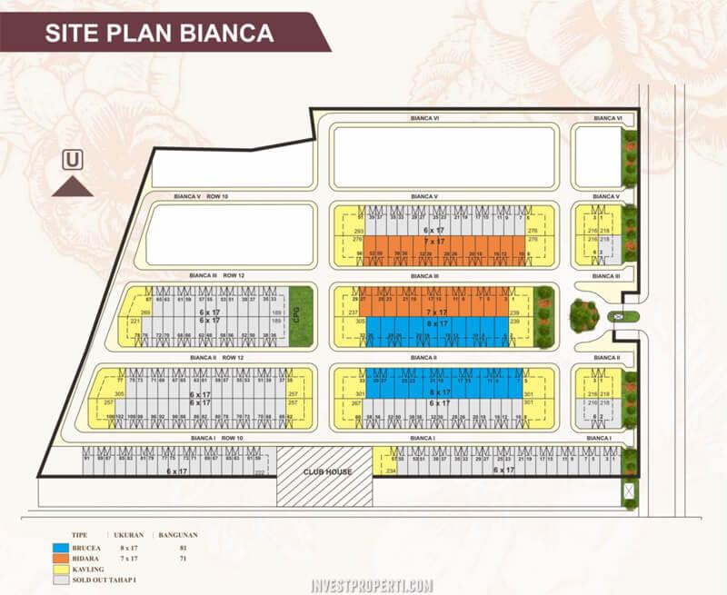 Site Plan Bianca Suvarna Sutera