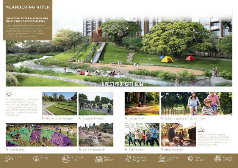 Botanical Park Garden Navapark BSD Facilities