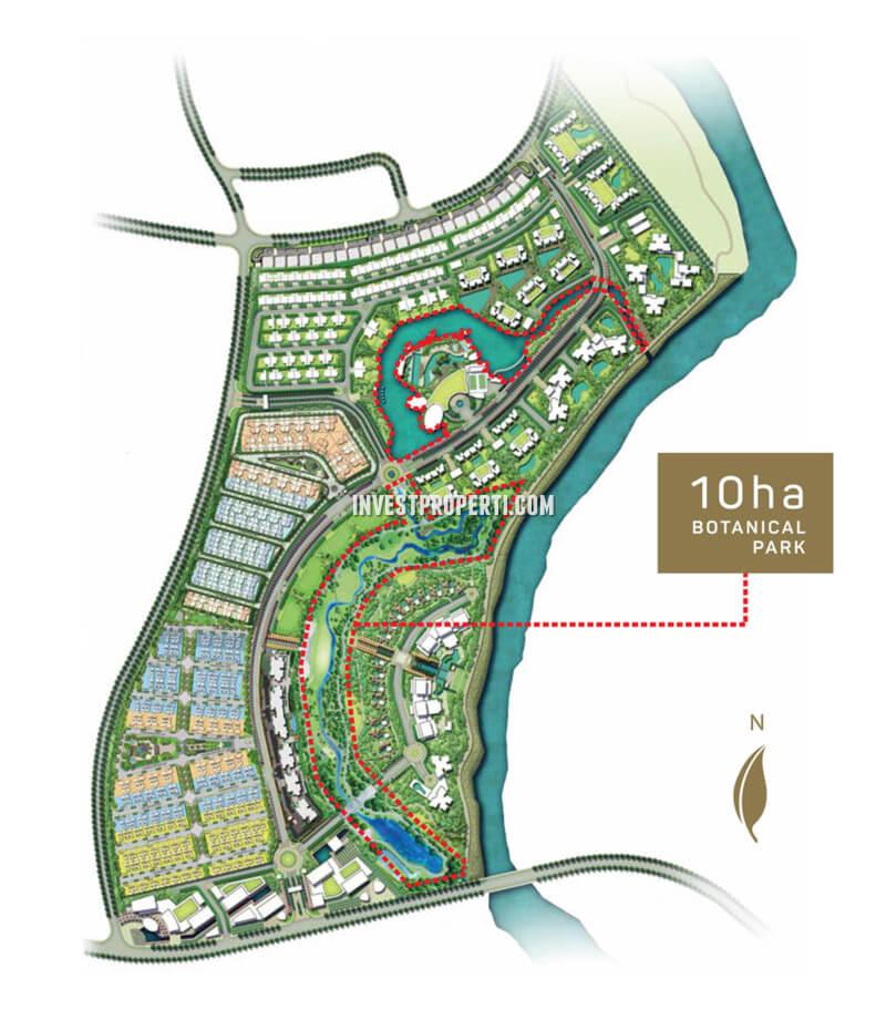 Botanical Park Garden Navapark BSD Master Plan