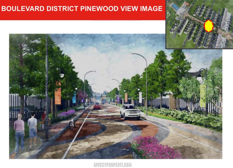 Boulevard District Pinewood Banjar Wijaya