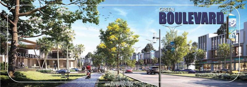 Citra Sentul Raya River Park Boulevard