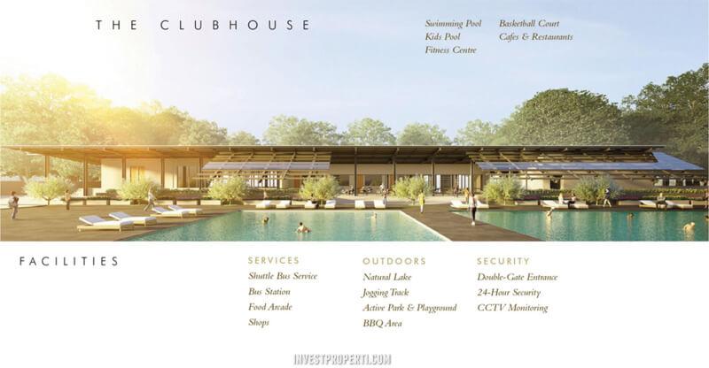 Club House Perumahan Samanea Hills Parung