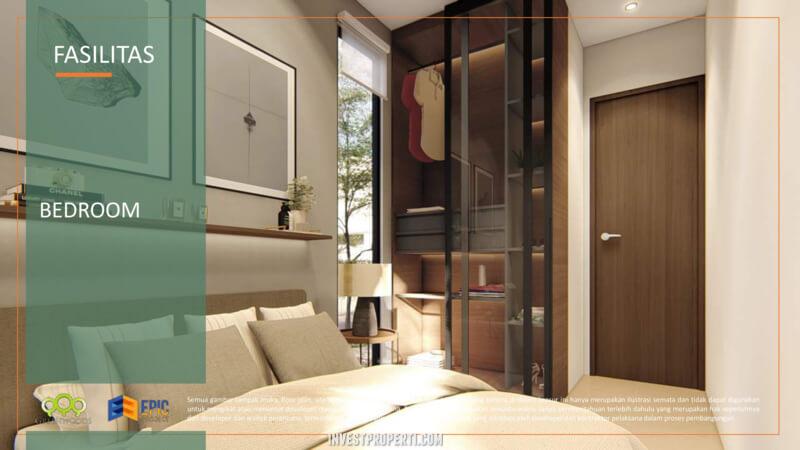 Design Interior Rumah Citaville Parung - Bedroom