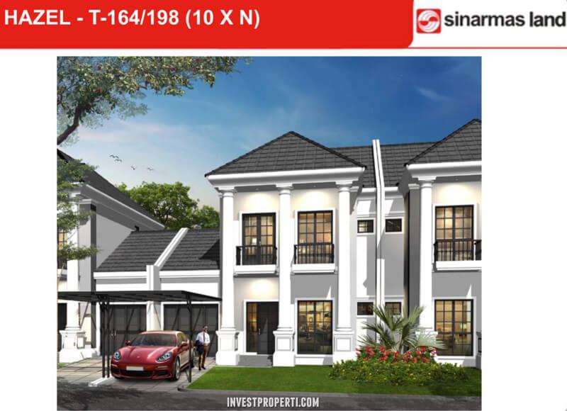 Dijual Rumah Hazel Banjar Wijaya T198