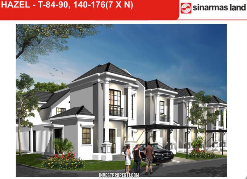 Dijual Rumah Hazel Banjar Wijaya Tangerang