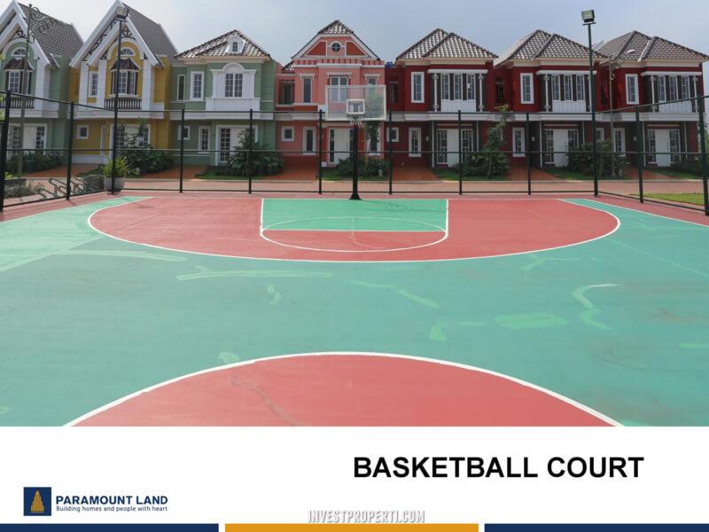 Fasilitas Cluster Malibu Village - Basket Ball