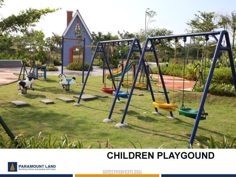 Fasilitas Cluster Malibu Village - Children Playground
