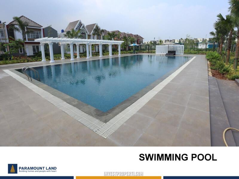 Fasilitas Cluster Malibu Village - Swimming Pool