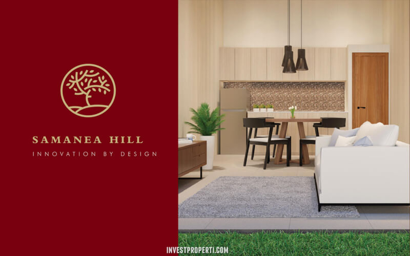 Interior Design Rumah Samanea Hills Parung - Kitchen Area