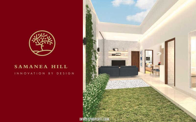 Interior Design Rumah Samanea Hills Parung - Living Room