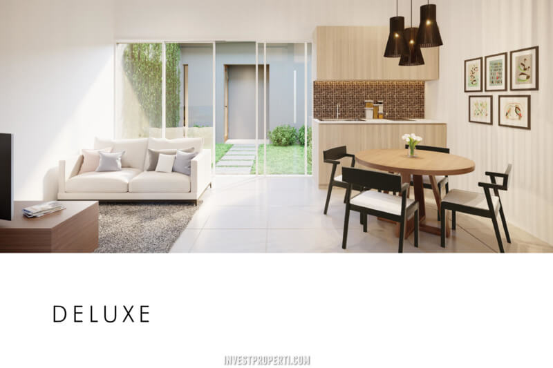 Rumah Cluster Acadia Parung Tipe Home Deluxe