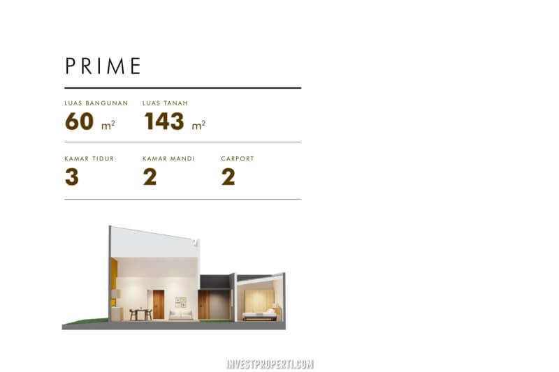 Rumah Cluster Acadia Parung Tipe Home Prime