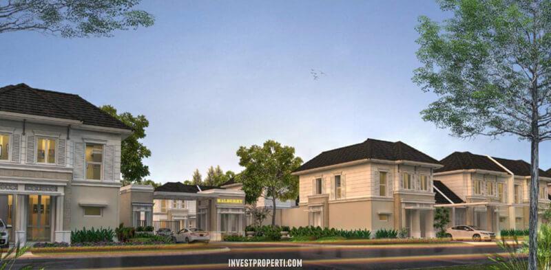 Rumah Malberry Banjar Wijaya Tangerang