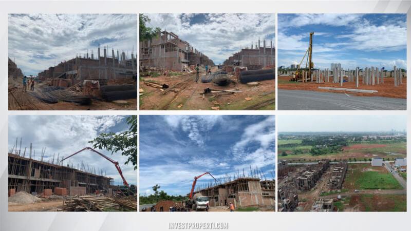Progress Pembangunan Rumah Zora BSD