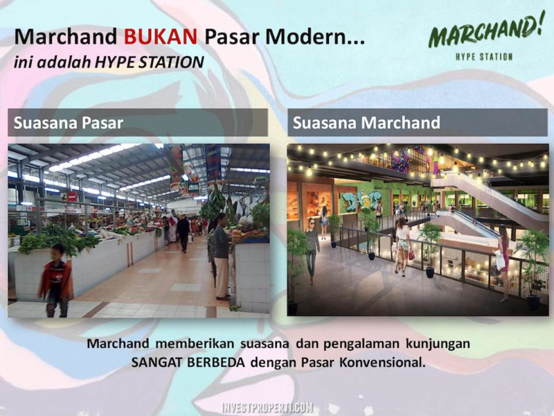 Suasana Marchand Hype Station Bintaro