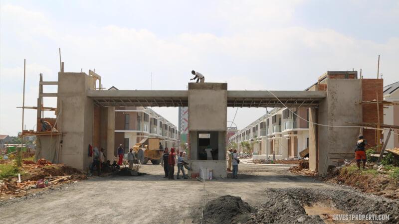 Gerbang Cluster Olive Residence Summarecon Bekasi