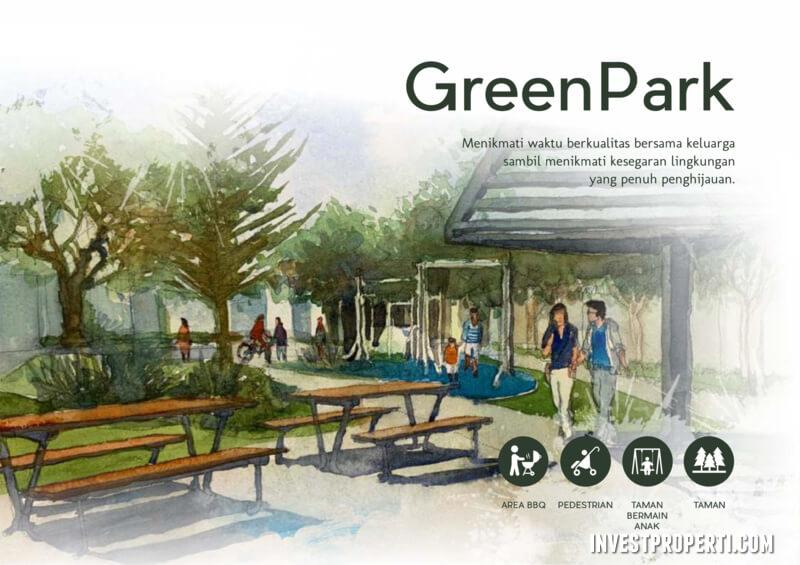 Green Park Synthesis Homes Cirendeu Ciputat