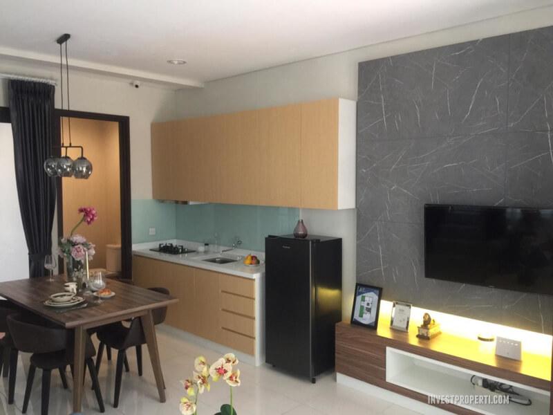 Interior Design Rumah Whelford Greenwich Park BSD - Living Room
