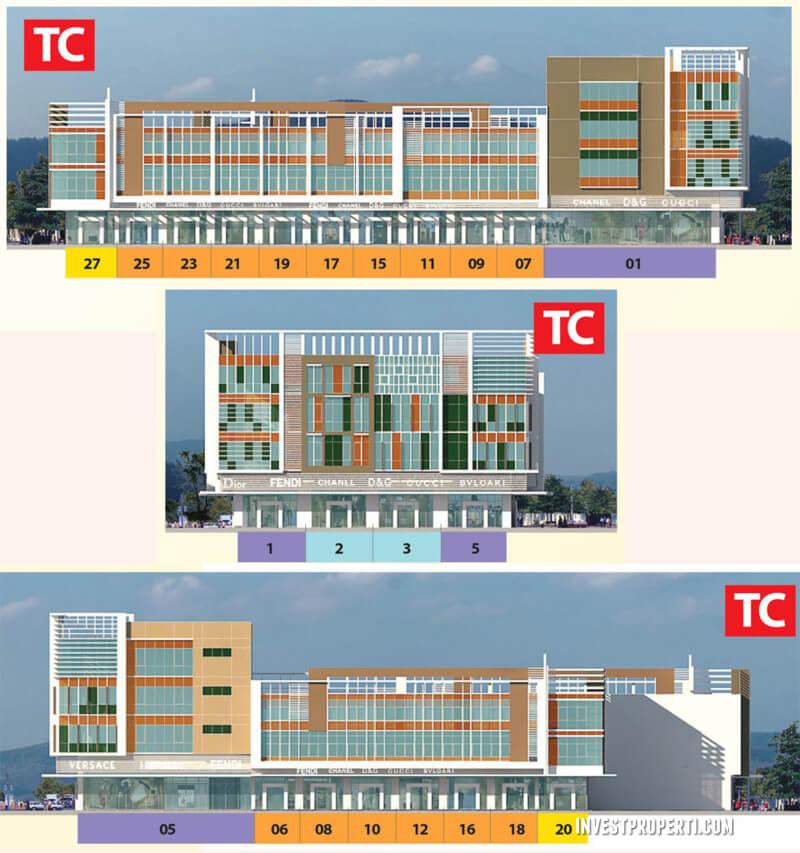 Ruby Commercial Summarecon Bekasi Facade TC