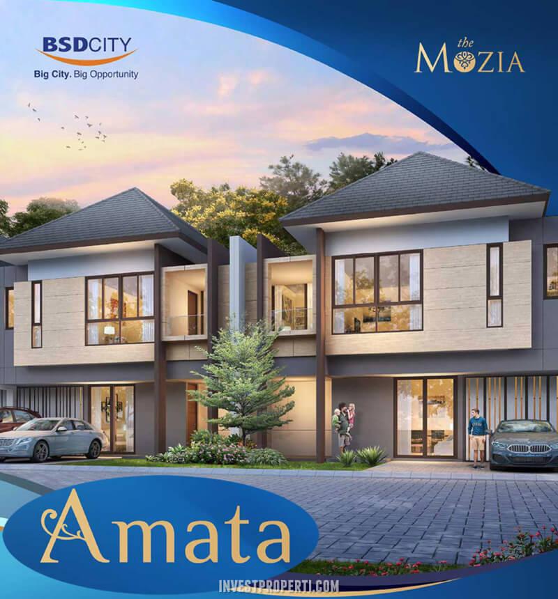 Rumah Cluster Amata Mozia BSD