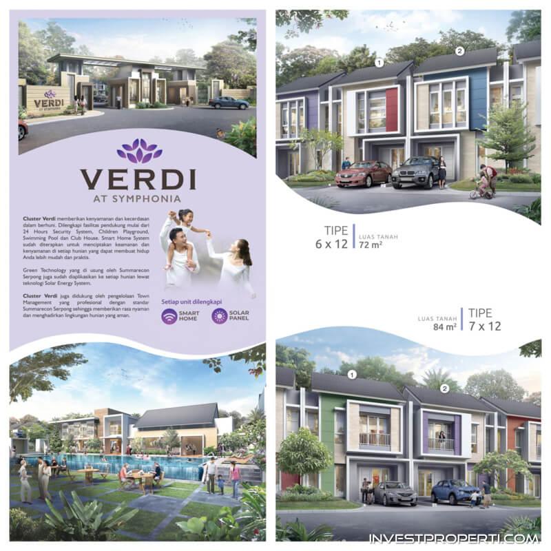 Rumah Cluster Verdi at Symphonia