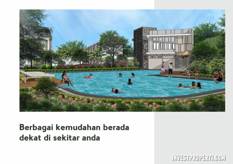 Swimming Pool Synthesis Homes Cirendeu Ciputat